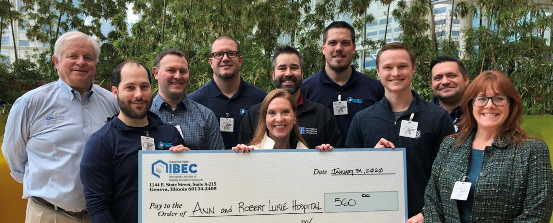 IIBEC-Chicago Donates to Ann & Robert H. Lurie Children's Hospital of Chicago